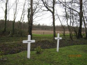 Cruci la Magdala pentru frères Pierre si Rik