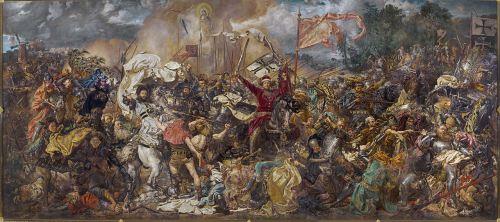 Jan Matejko - Bătălia de la Grunwald (sursa)